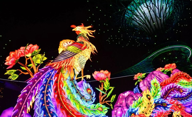 Lanterns, a golden tree, and moonlight serenading at Gardens by the Bay Mid-Autumn Festival 2018