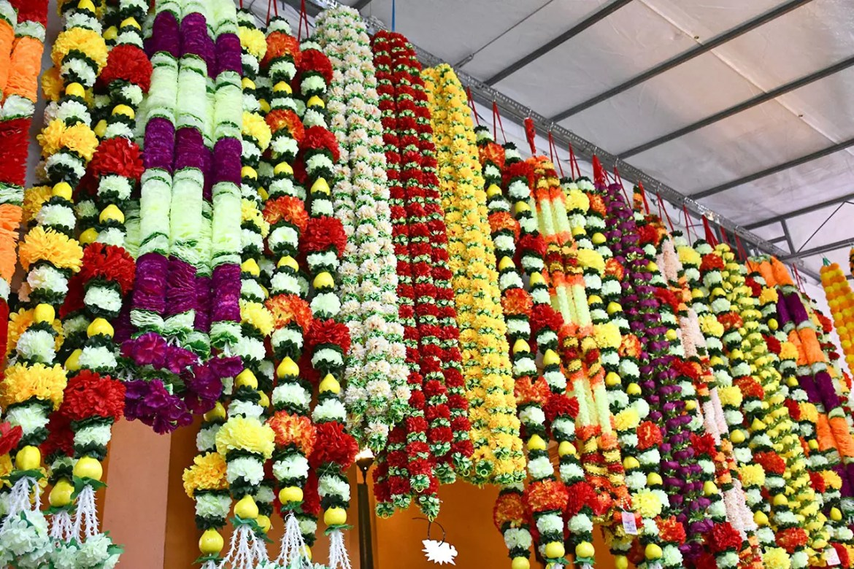 Little India Deepavali Light-Up 2018 Festive Market.