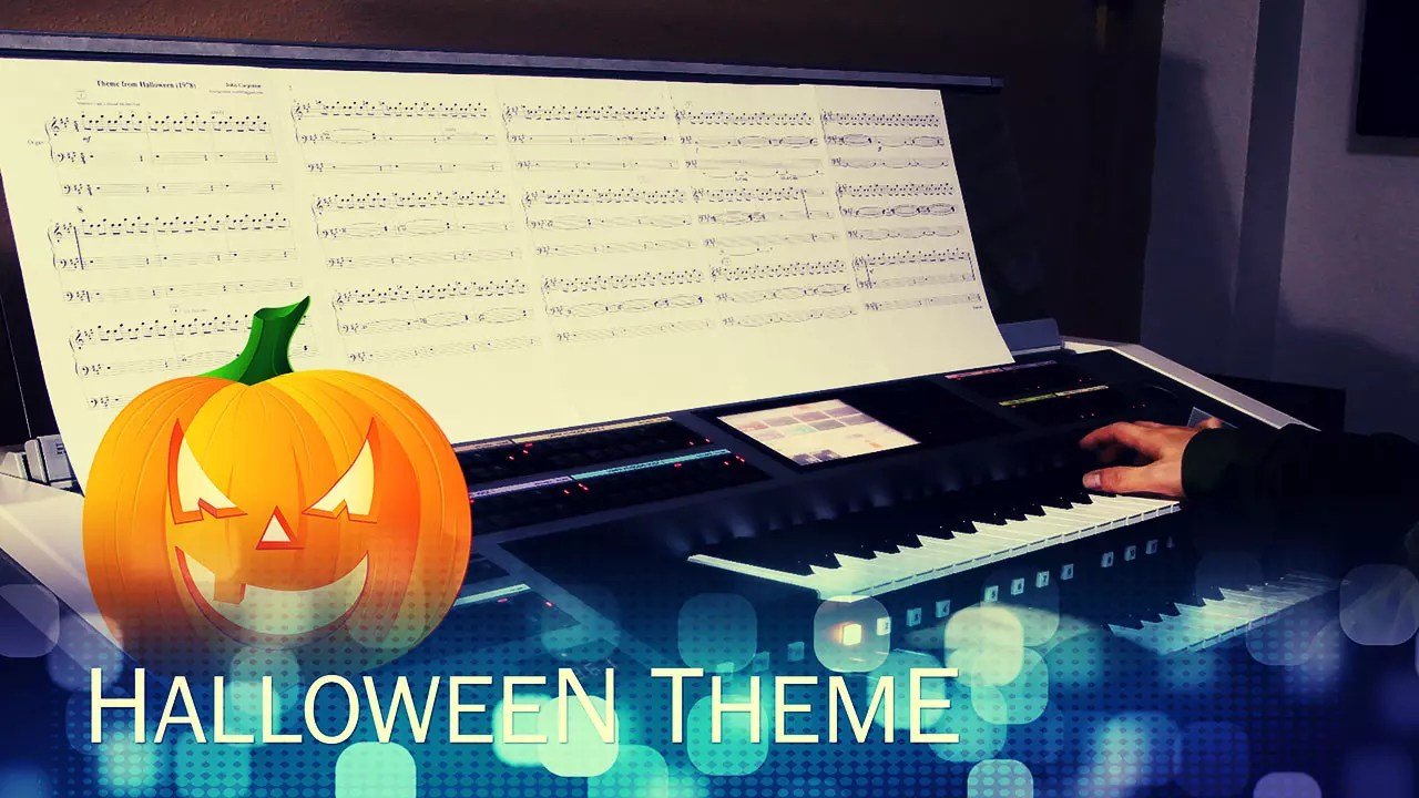 Yamaha Electone Performance - Halloween Theme