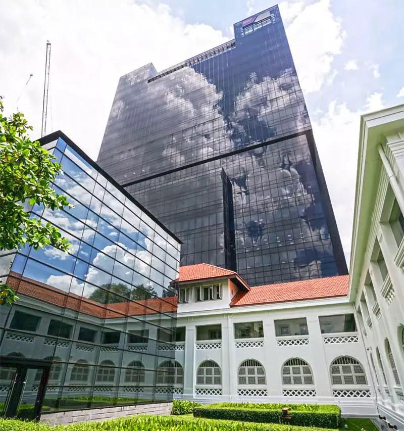 Nanyang Technological University Buildings.