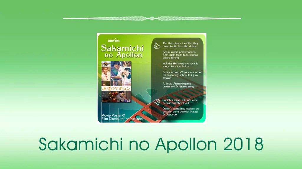 Sakamichi no Apollon 2018 (坂道のアポロン) review