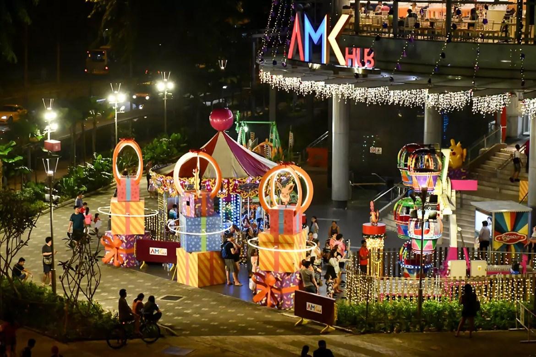AMK Hub Christmas 2018 Decorations.