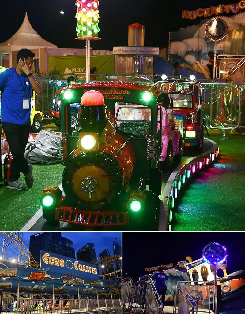 Prudential Marina Bay Carnival 2018 Family Rides