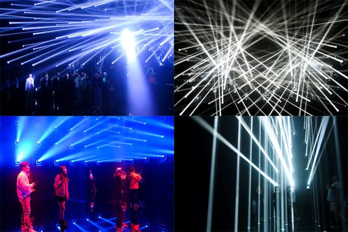 Light Show in Tokyo.