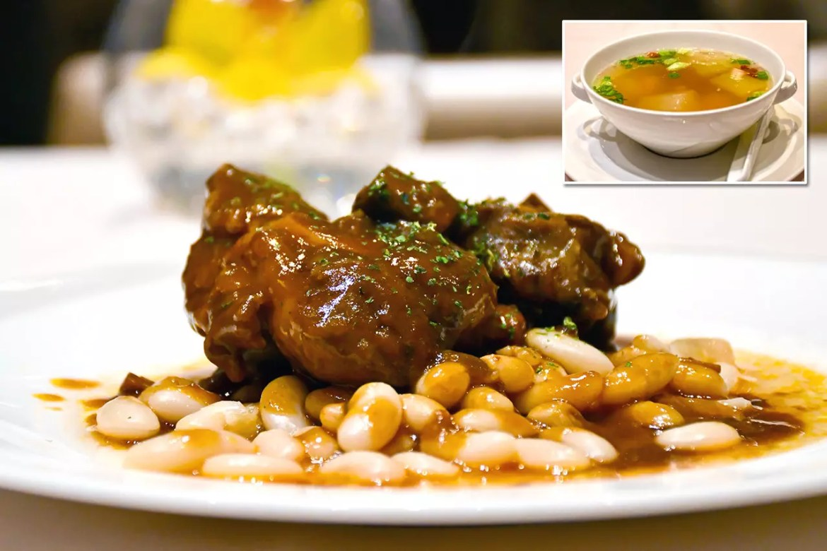 Singapore Airlines The Private Room | Lamb Shank Ossobuco