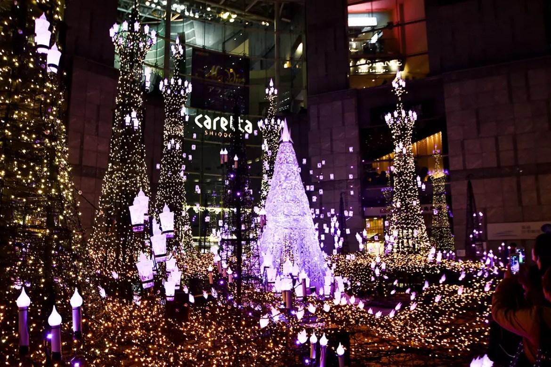 Caretta Shiodome Illumination 2018 (Frozen Version)