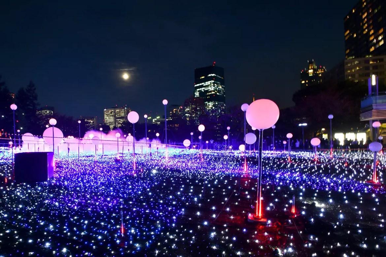 Tokyo Midtown Christmas Illumination 2018