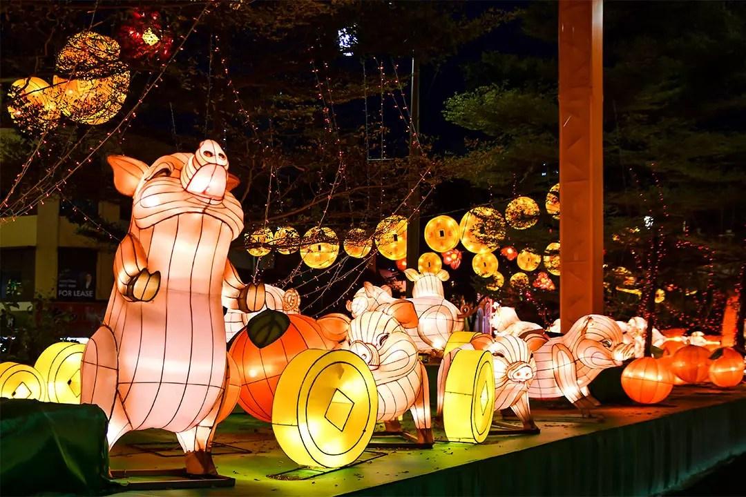 Chinatown Chinese New Year Light-Up 2019
