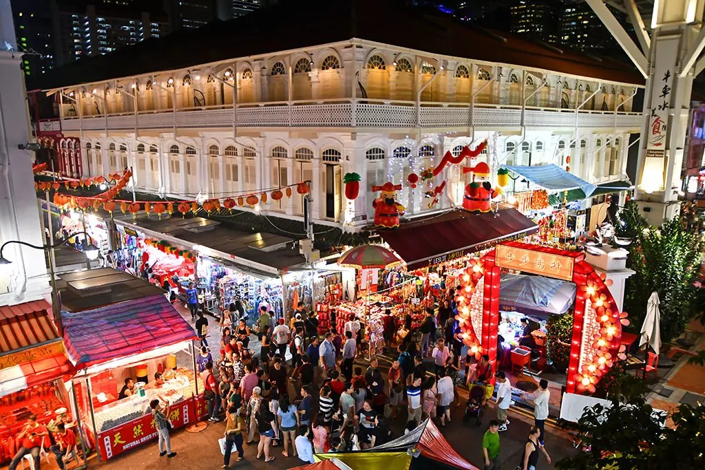 Chinatown Chinese New Year Light-Up 2019 Festive Market at Smith Street.