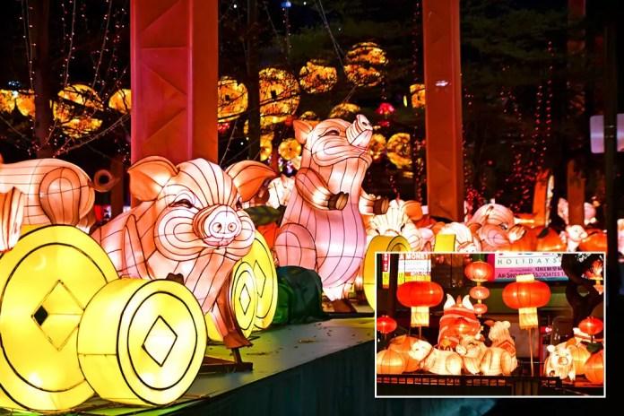Chinatown Light-Up 2019, Singapore.