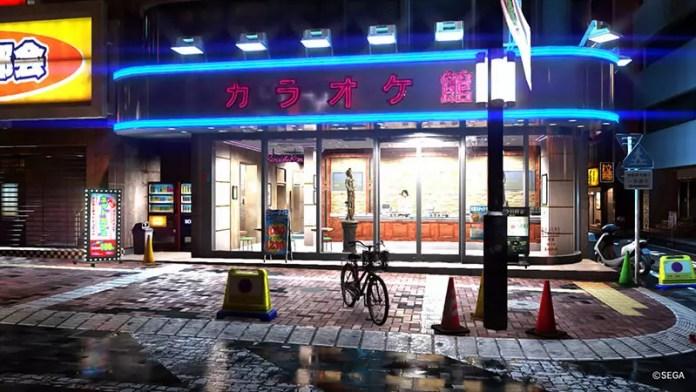 Yakuza 6 Karaoke Outlet.