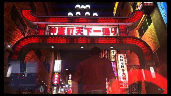 Yakuza 6 Tenkaichi Sign.
