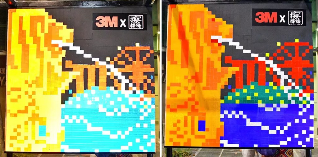Sk(r)etch by Ca Kway Teow x 3M   Singapore Night Festival 2019