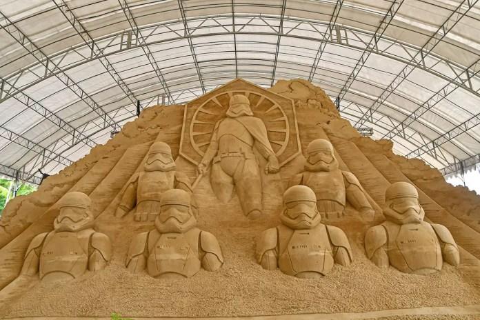 Sentosa Sand Sculptures 2019.