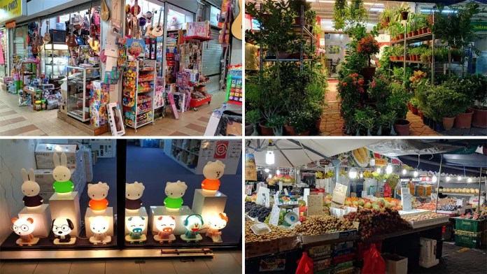 Chong Pang City stalls.
