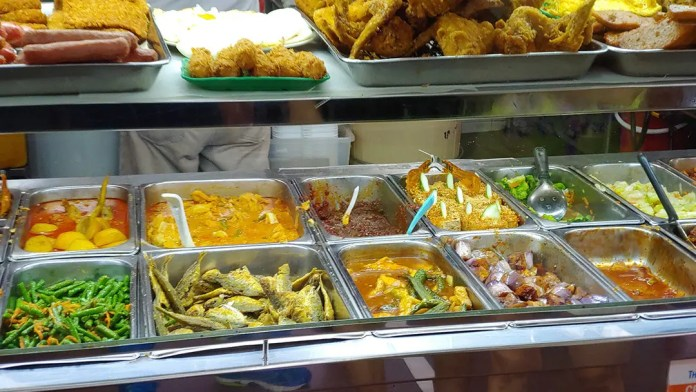 Chong Pang Nasi Lemak dishes.