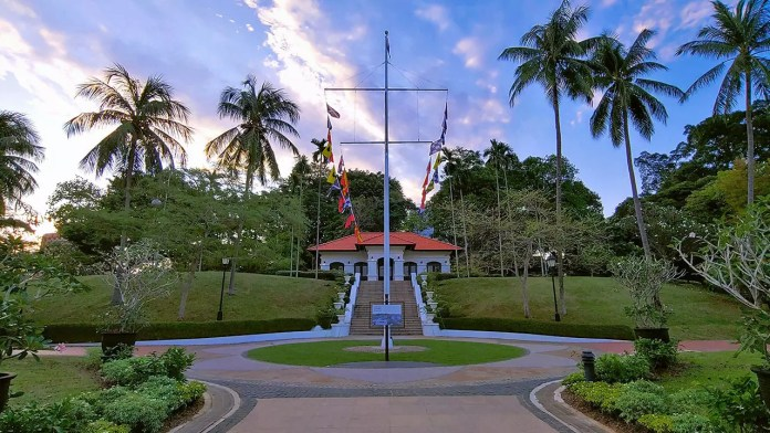 Fort Canning Flagstaff.