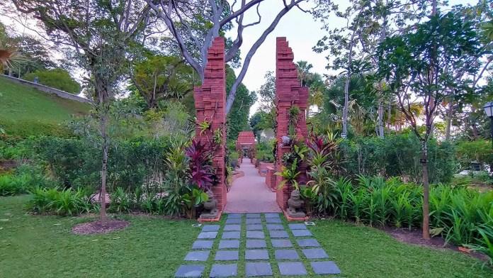 Sang Nila Utama Garden, Fort Canning