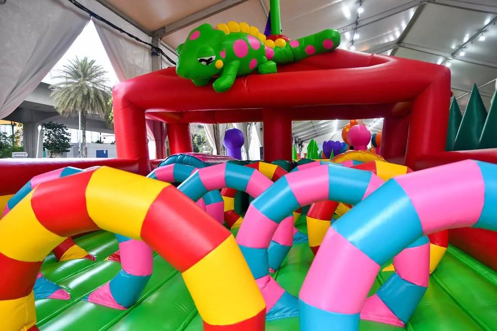 VivoCity Bounce-a-Saurus Fiesta Charly's Adventures