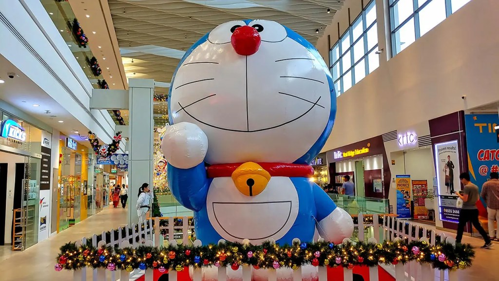 Doraemon at AMK Hub
