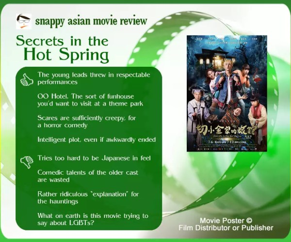 Secrets in the Hot Spring review