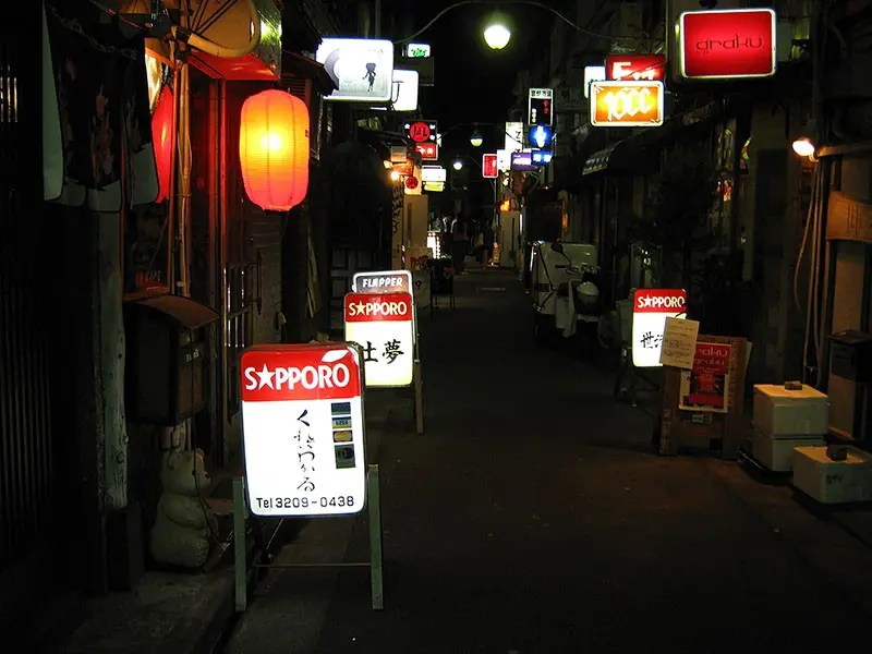 Shinjuku Golden Gai.