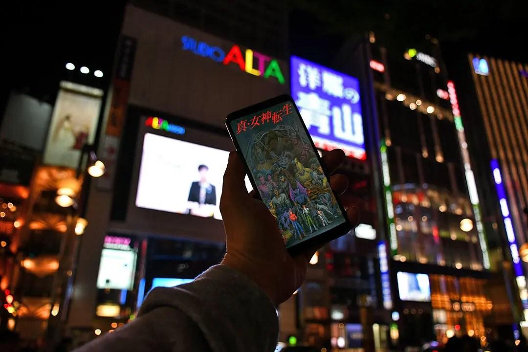 Shin Megami Tensei Real-Life Tokyo Locations