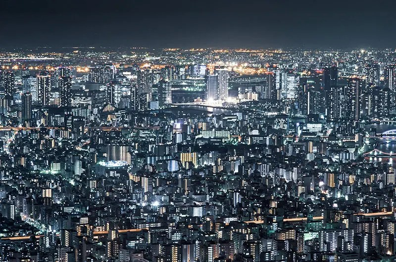 Tokyo Night View from Tokyo SkyTree.