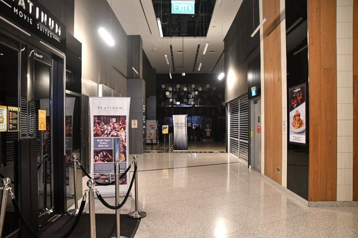 Cineleisure Orchard closed because of COVID-19.
