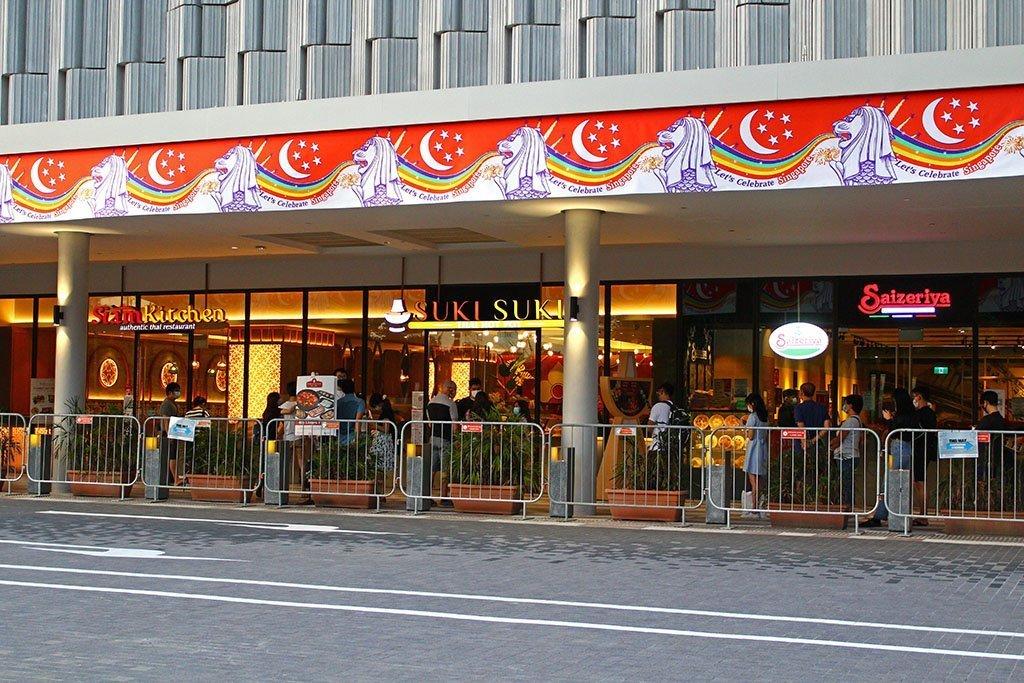 HomeTeamNS Khatib Restaurants.