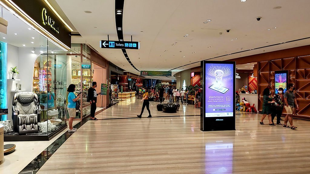 Jewel Changi Airport Shops (July 2020)