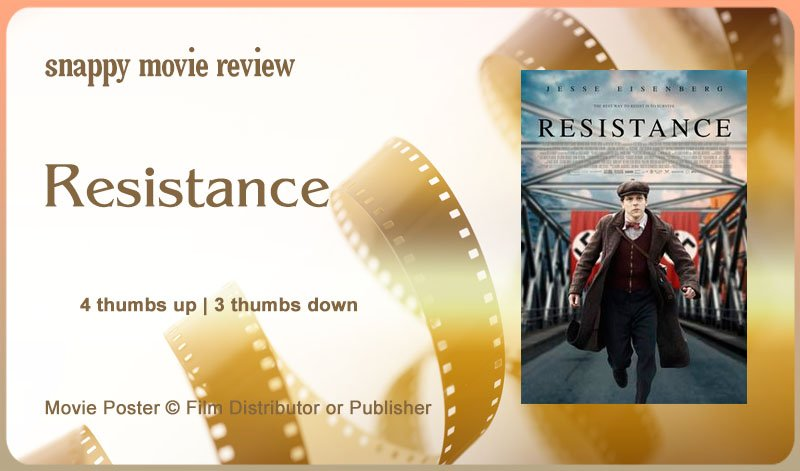 Resistance (2020) Movie Review