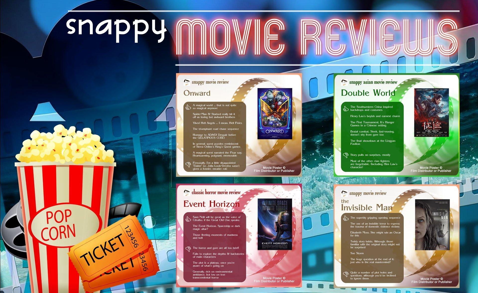 Snappy Movie Reviews 2020