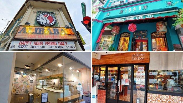 East Coast Road Cafes