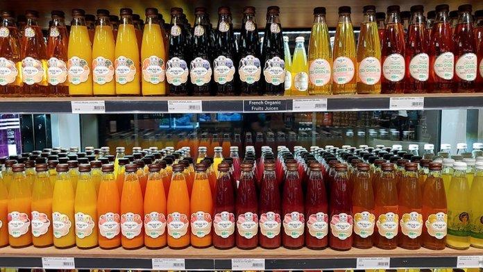 Maison Meneau organic juices.