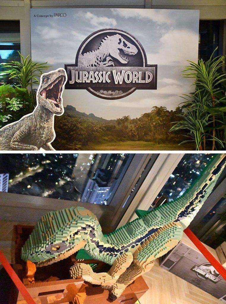 Jurassic World Café Singapore.