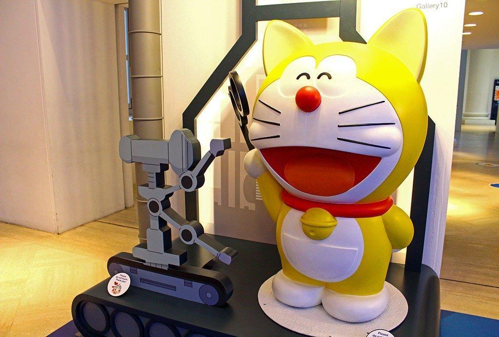 Yellow Doraemon.