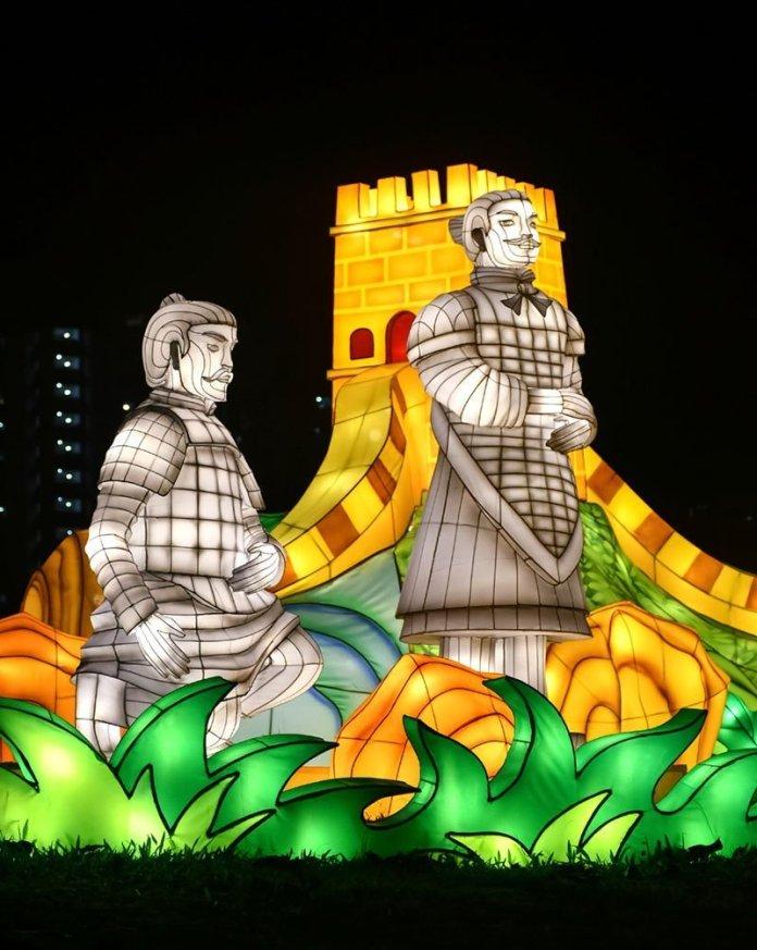 Terracotta Soldiers Lanterns.