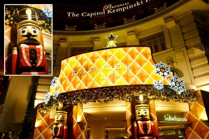 Capitol Singapore Christmas 2020.