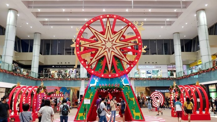 A Magical Christmas Circus, Marina Sqaure Singapore.