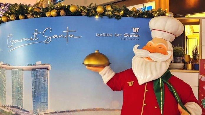 Marina Bay Sands Christmas Promotion 2020.
