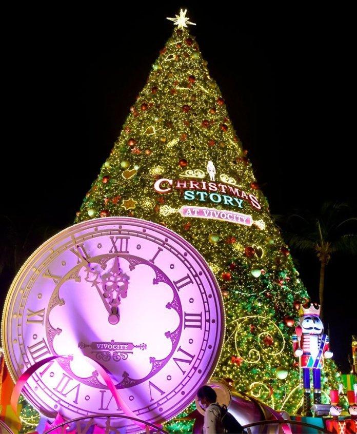 VivoCity Christmas Tree 2020.
