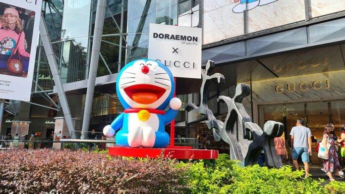 Doraemon x Gucci at Paragon Shopping Centre