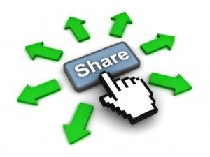 Partage d'articles et boutons de réseaux sociaux