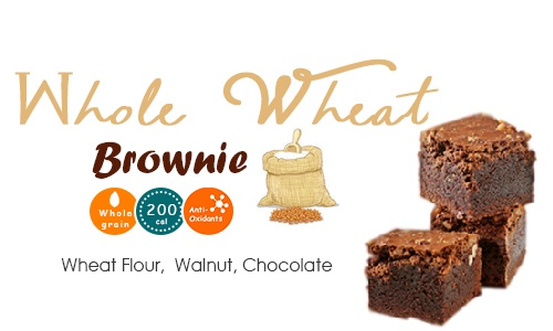 Whole Wheat Brownie poshtick