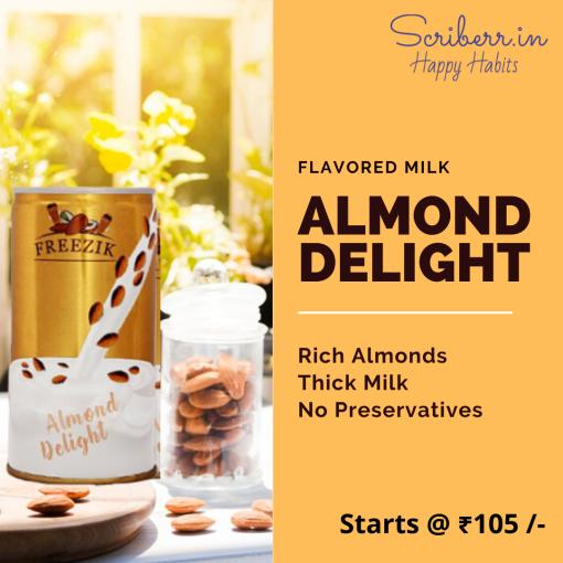 Freezik - almond milk