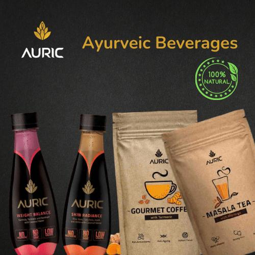 auric ayurvedic beverages