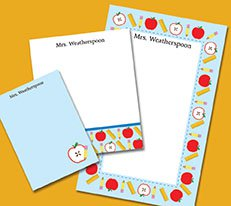 buy personalized stationery gifts
