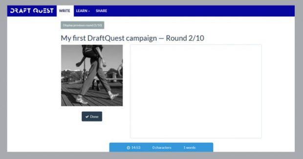 Deuxième round de ma campagne DraftQuest