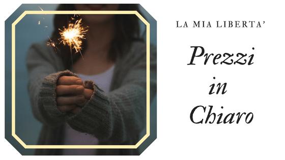 Il mio blog Diario #15 – Prezzi chiari e amicizia lunga